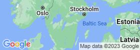Östergötland map