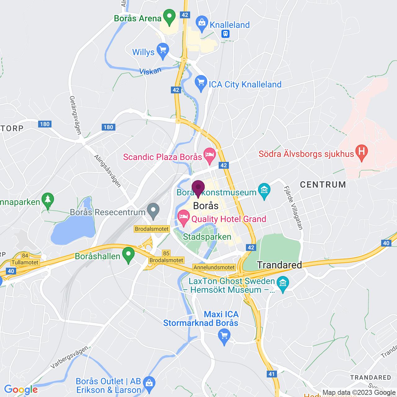 Karta över Österlånggatan 30