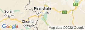 Piranshahr map
