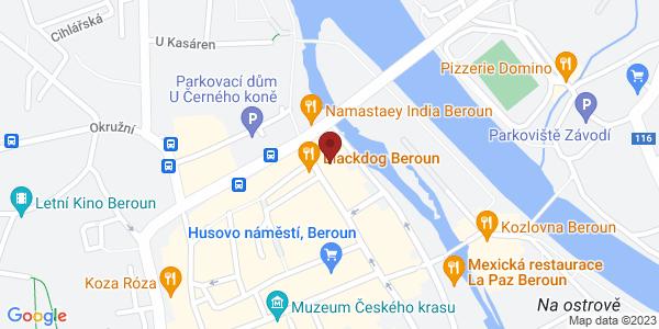 Google Map of Česká 57, 266 01 Beroun