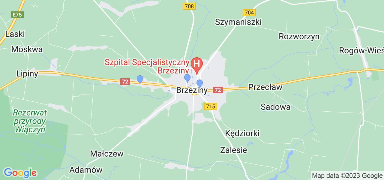 Dostępne w Brzezinach lokalizacje punktów nadania, z których możesz skorzystać, chcąc wysłać turbinę do regeneracji w największym serwisie w Polsce