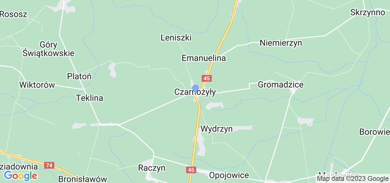 Dostępne w Czarnożyłach lokalizacje punktów nadania, z których możesz skorzystać, chcąc wysłać turbinę do regeneracji w największym serwisie w Polsce