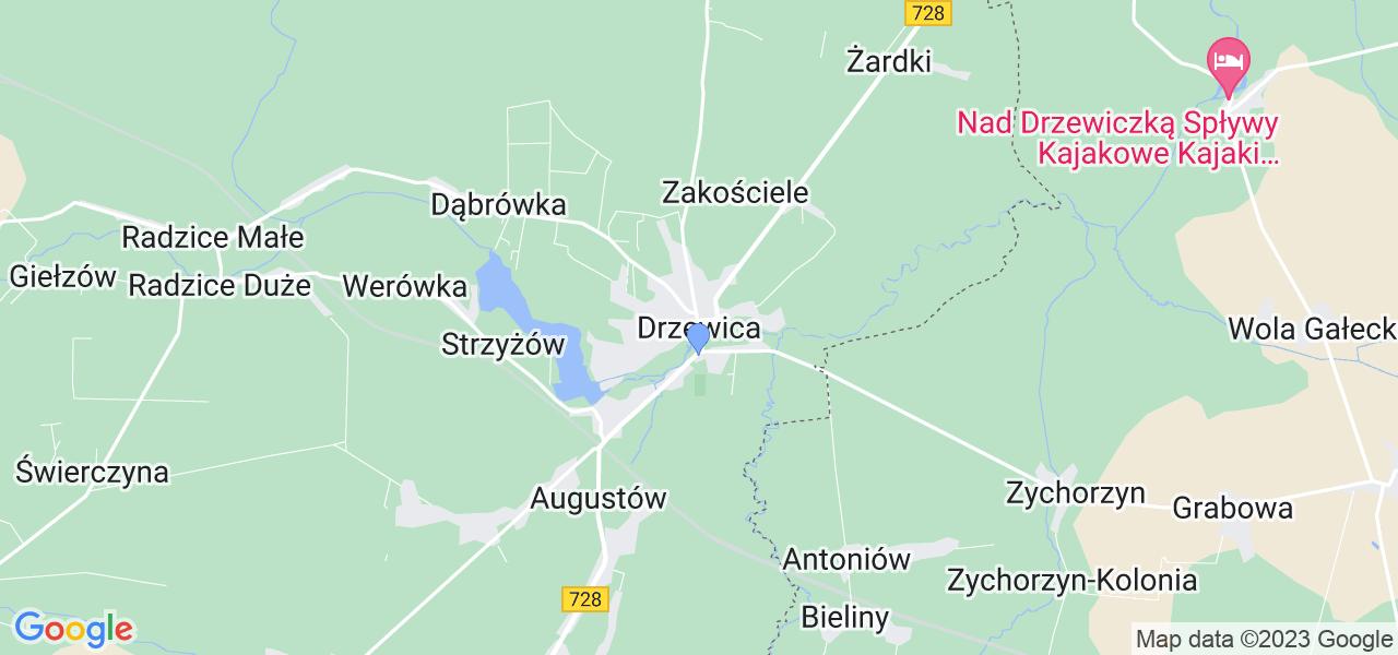 Dostępne w Drzewicy lokalizacje punktów nadania, z których możesz skorzystać, chcąc wysłać turbinę do regeneracji w największym serwisie w Polsce
