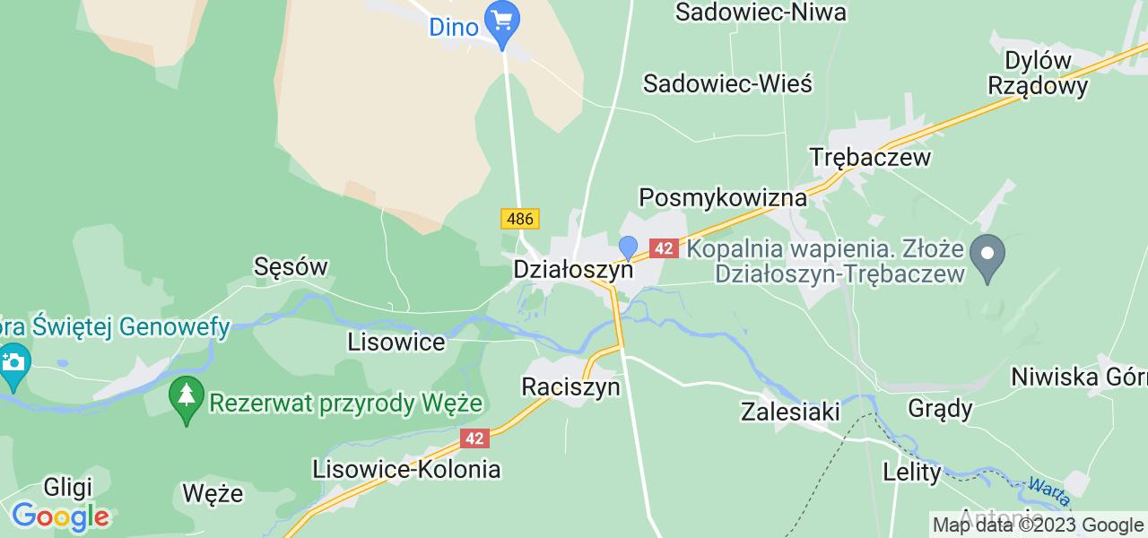 Dostępne w Działoszynie lokalizacje punktów nadania, z których możesz skorzystać, chcąc wysłać turbinę do regeneracji w największym serwisie w Polsce