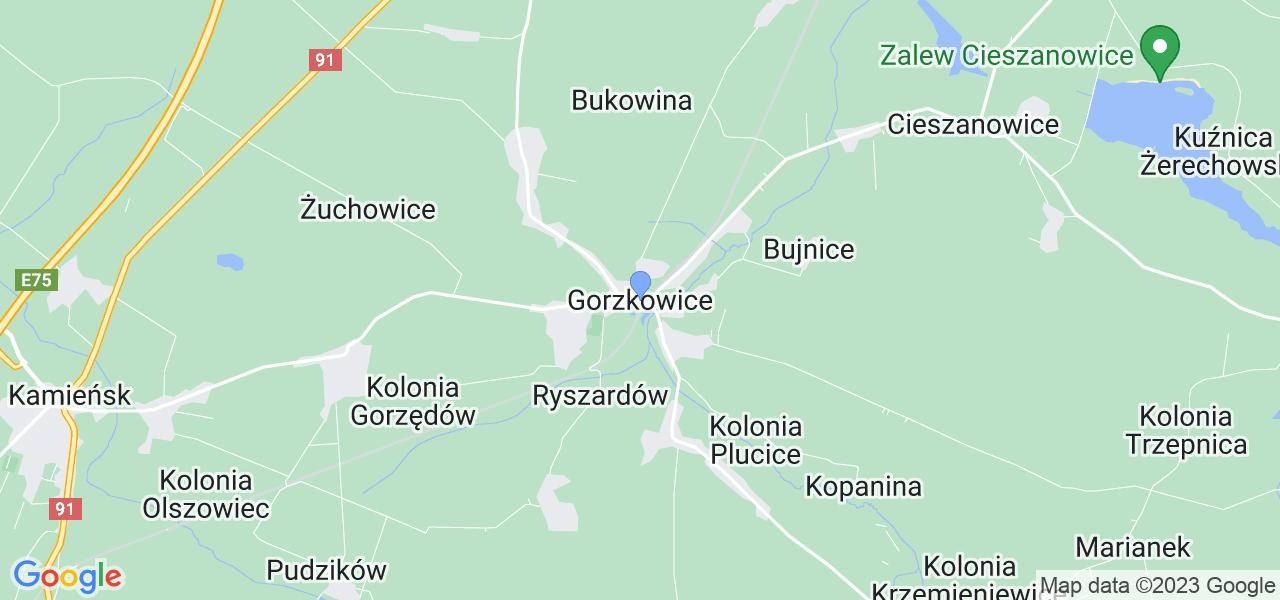 Dostępne w Gorzkowicach lokalizacje punktów nadania, z których możesz skorzystać, chcąc wysłać turbinę do regeneracji w największym serwisie w Polsce