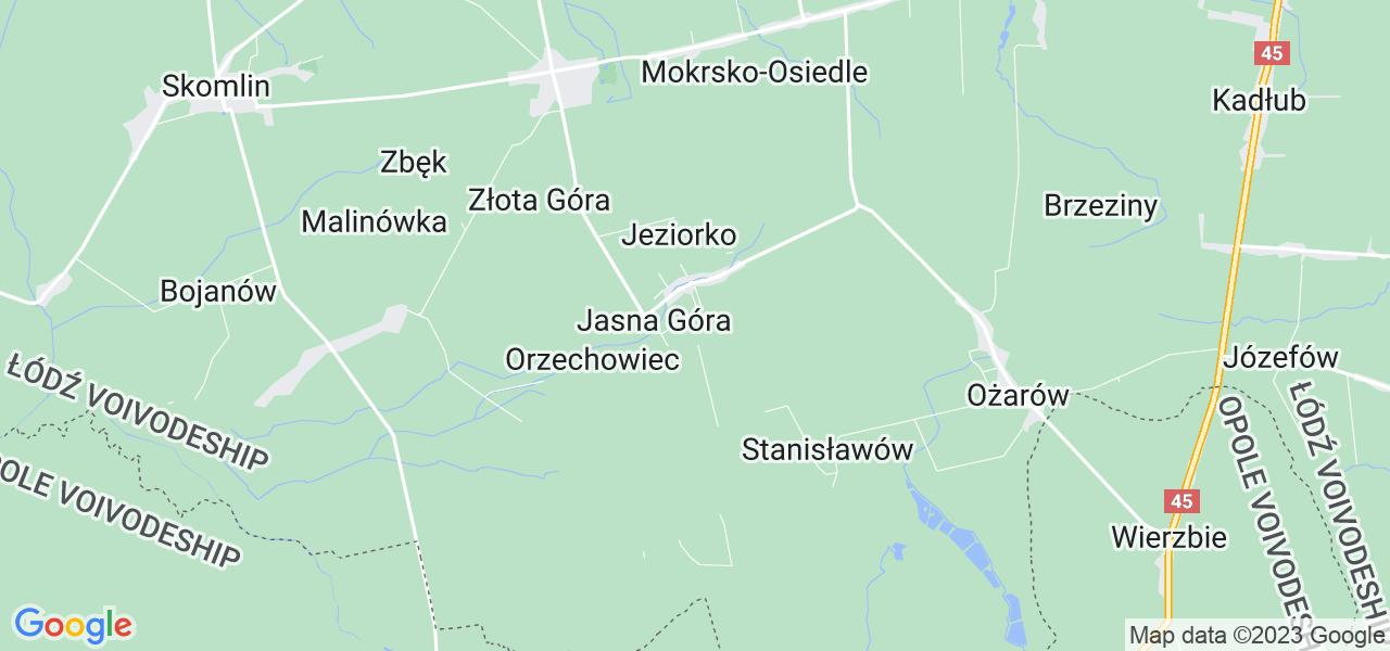 Dostępne w Komornikach lokalizacje punktów nadania, z których możesz skorzystać, chcąc wysłać turbinę do regeneracji w największym serwisie w Polsce