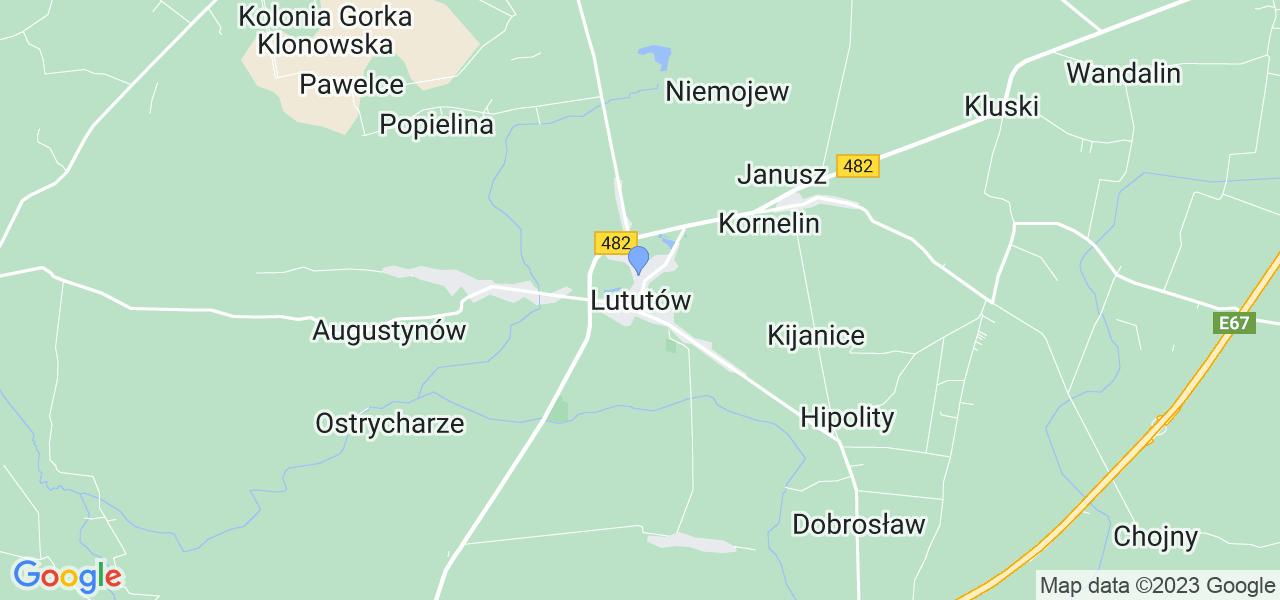 Dostępne w Lututowie lokalizacje punktów nadania, z których możesz skorzystać, chcąc wysłać turbinę do regeneracji w największym serwisie w Polsce