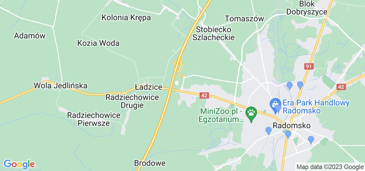 Dostępne w Radomsku lokalizacje punktów nadania, z których możesz skorzystać, chcąc wysłać turbinę do regeneracji w największym serwisie w Polsce