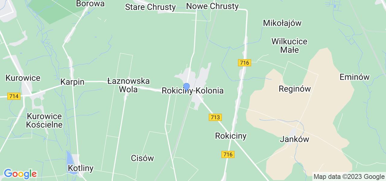 Dostępne w Rokicinach-Kolonii lokalizacje punktów nadania, z których możesz skorzystać, chcąc wysłać turbinę do regeneracji w największym serwisie w Polsce