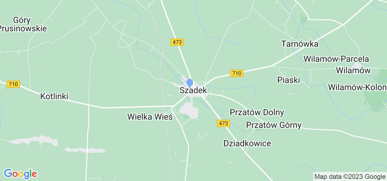 Dostępne w Szadku lokalizacje punktów nadania, z których możesz skorzystać, chcąc wysłać turbinę do regeneracji w największym serwisie w Polsce