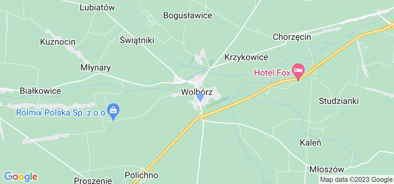 Dostępne w Wolborzu lokalizacje punktów nadania, z których możesz skorzystać, chcąc wysłać turbinę do regeneracji w największym serwisie w Polsce