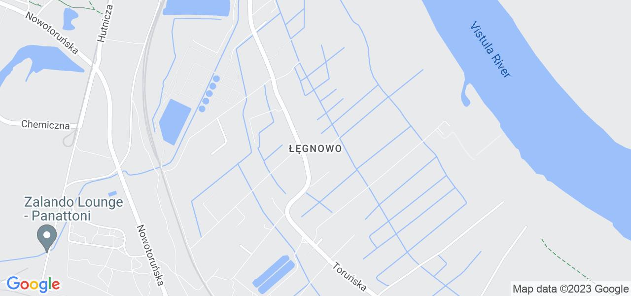 Osiedle Łęgnowo w Bydgoszczy – w tych punktach ekspresowo wyślesz turbinę do autoryzowanego serwisu