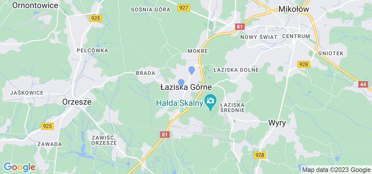 Dostępne w Łaziskach Górnych lokalizacje punktów nadania, z których możesz skorzystać, chcąc wysłać turbinę do regeneracji w największym serwisie w Polsce