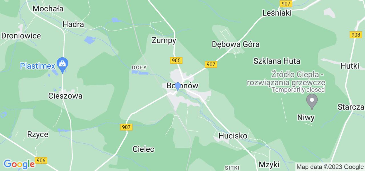 Dostępne w Boronowie lokalizacje punktów nadania, z których możesz skorzystać, chcąc wysłać turbinę do regeneracji w największym serwisie w Polsce