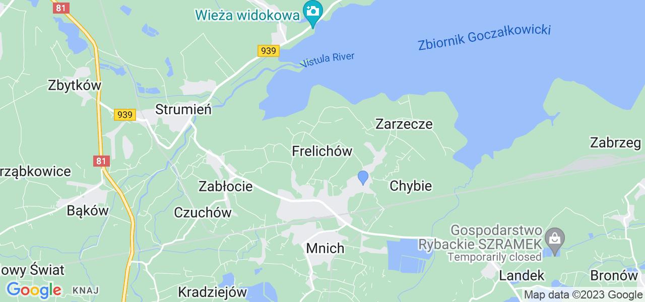Dostępne w Frelichowie lokalizacje punktów nadania, z których możesz skorzystać, chcąc wysłać turbinę do regeneracji w największym serwisie w Polsce