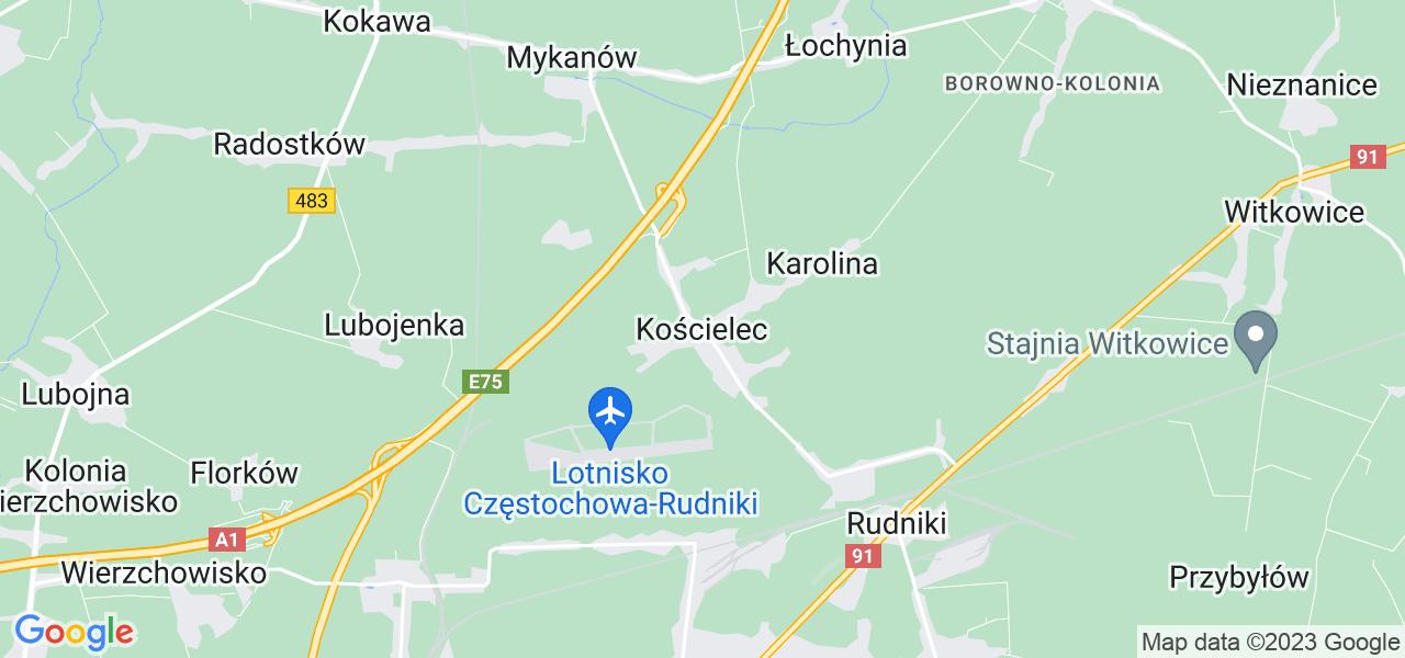 Dostępne w Kościelcu lokalizacje punktów nadania, z których możesz skorzystać, chcąc wysłać turbinę do regeneracji w największym serwisie w Polsce