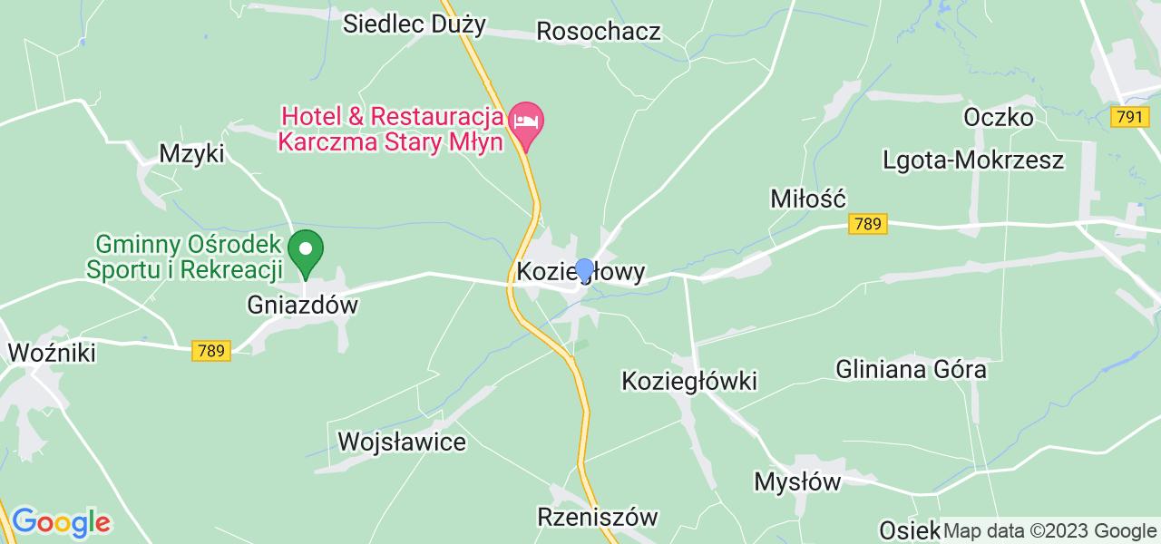 Dostępne w Koziegłowach lokalizacje punktów nadania, z których możesz skorzystać, chcąc wysłać turbinę do regeneracji w największym serwisie w Polsce