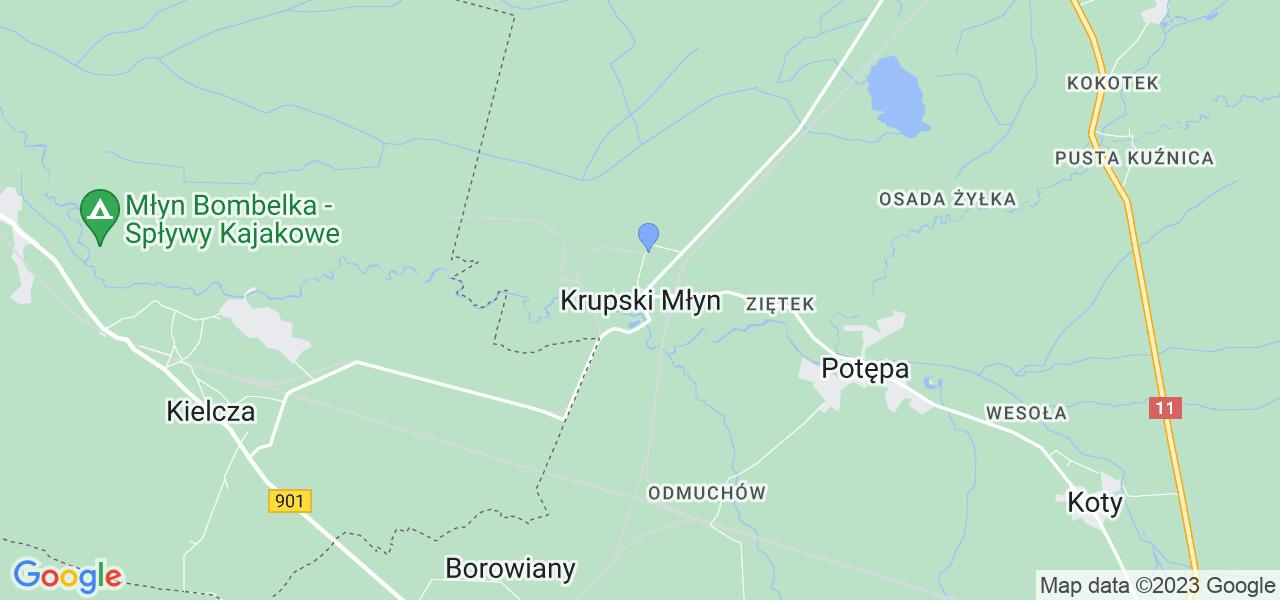 Dostępne w Krupskim Młynie lokalizacje punktów nadania, z których możesz skorzystać, chcąc wysłać turbinę do regeneracji w największym serwisie w Polsce