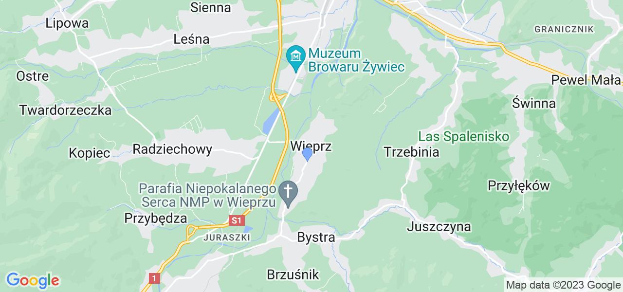 Dostępne w Wieprzu lokalizacje punktów nadania, z których możesz skorzystać, chcąc wysłać turbinę do regeneracji w największym serwisie w Polsce