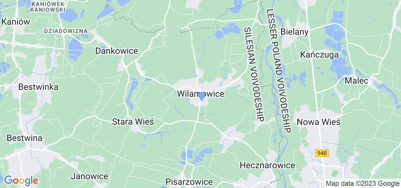 Dostępne w Wilamowicach lokalizacje punktów nadania, z których możesz skorzystać, chcąc wysłać turbinę do regeneracji w największym serwisie w Polsce