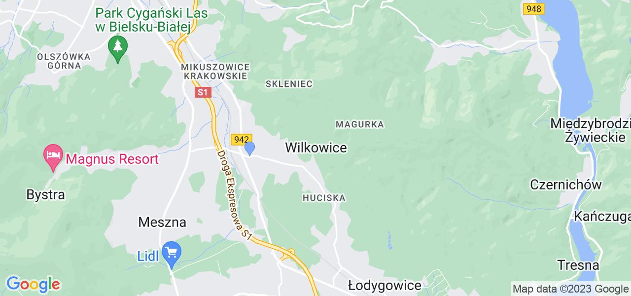 Dostępne w Wilkowicach lokalizacje punktów nadania, z których możesz skorzystać, chcąc wysłać turbinę do regeneracji w największym serwisie w Polsce