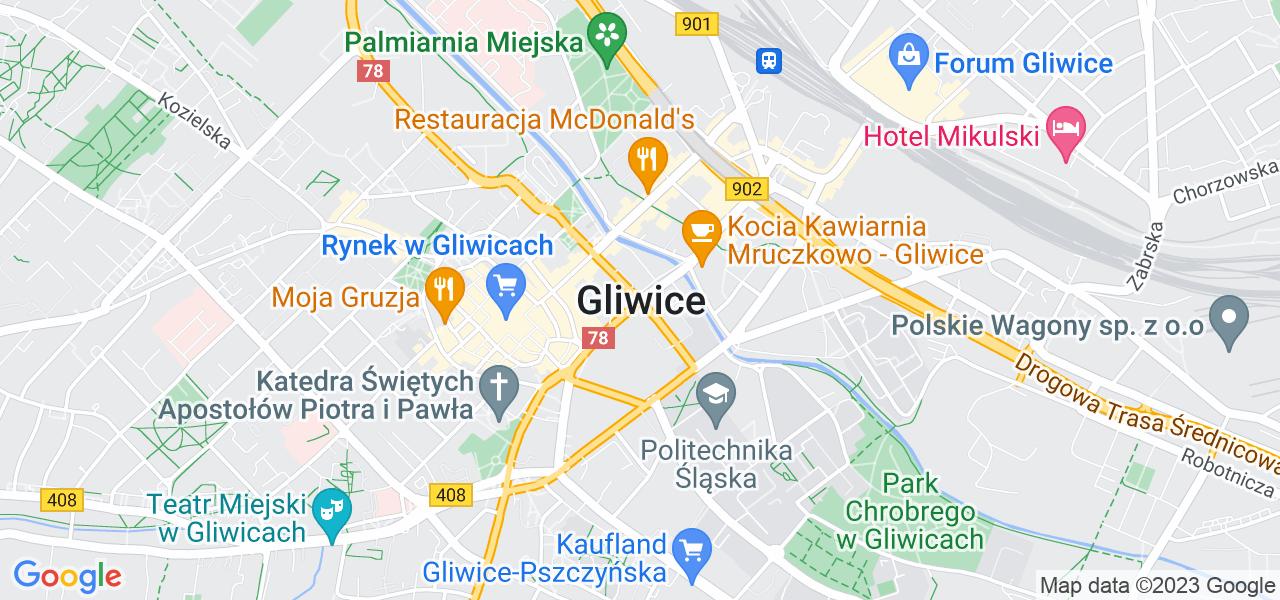 Osiedle Śródmieście w Gliwicach – w tych punktach ekspresowo wyślesz turbinę do autoryzowanego serwisu