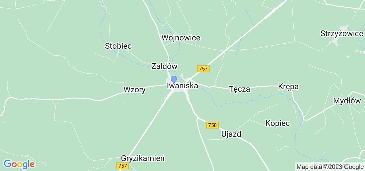 Dostępne w Iwaniskach lokalizacje punktów nadania, z których możesz skorzystać, chcąc wysłać turbinę do regeneracji w największym serwisie w Polsce