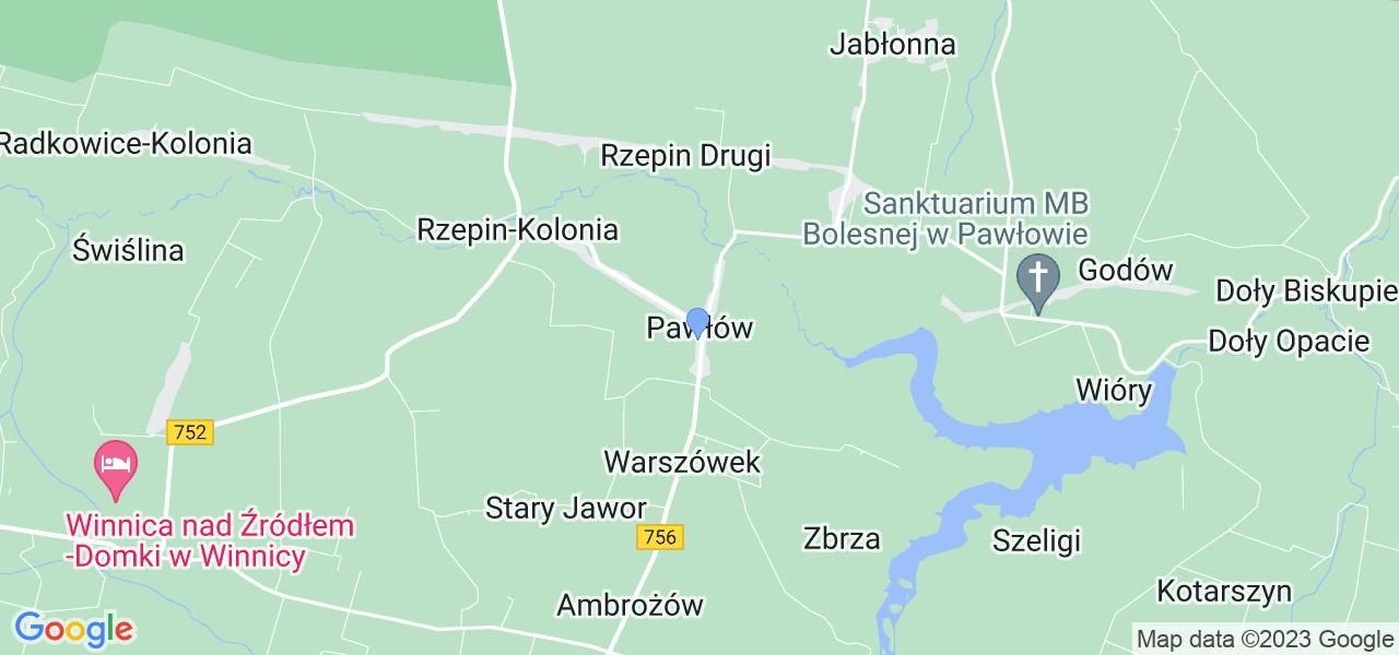 Dostępne w Pawłowie lokalizacje punktów nadania, z których możesz skorzystać, chcąc wysłać turbinę do regeneracji w największym serwisie w Polsce