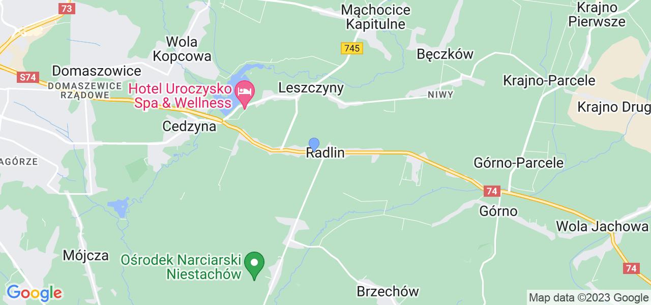 Dostępne w Radlinie lokalizacje punktów nadania, z których możesz skorzystać, chcąc wysłać turbinę do regeneracji w największym serwisie w Polsce