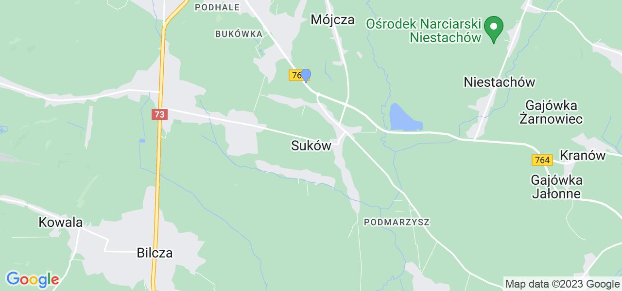 Dostępne w Sukowie lokalizacje punktów nadania, z których możesz skorzystać, chcąc wysłać turbinę do regeneracji w największym serwisie w Polsce