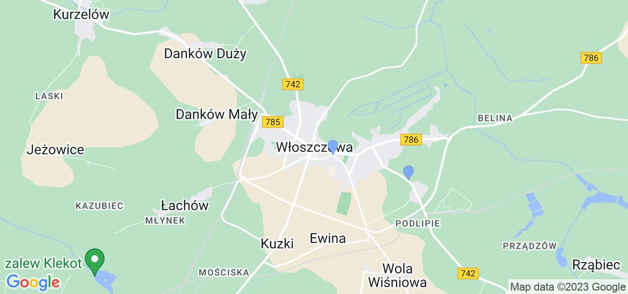 Dostępne w Włoszczowie lokalizacje punktów nadania, z których możesz skorzystać, chcąc wysłać turbinę do regeneracji w największym serwisie w Polsce