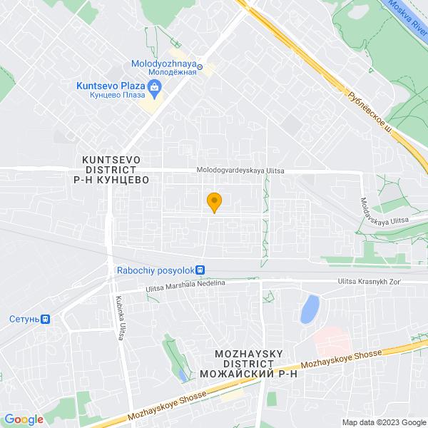Доставка лучшей пиццы и суши на улице Кунцевская