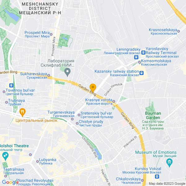 Доставка лучшей пиццы и суши на улице Садовая-Спасская