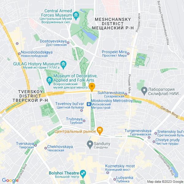 Доставка лучшей пиццы и суши на улице Садовая-Сухаревская