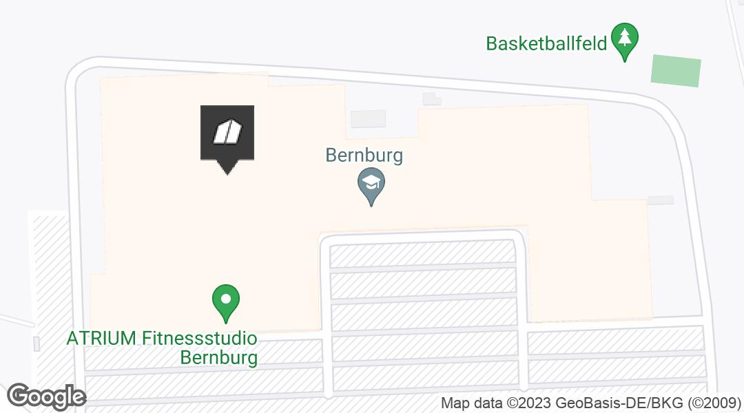 Karte für den Markt in Bernburg/Saale