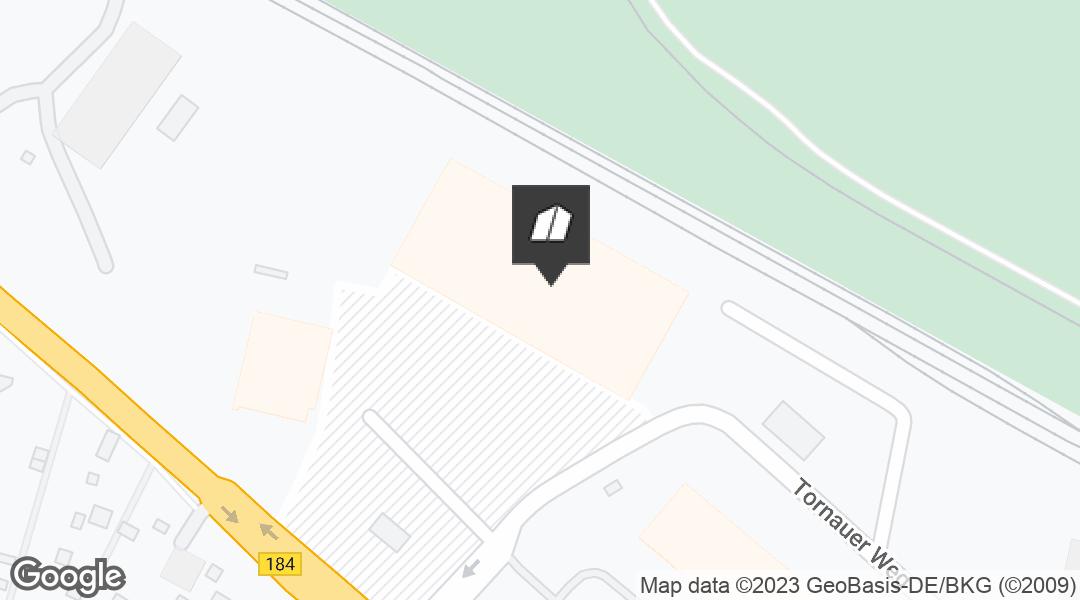 Karte für den Markt in Roßlau