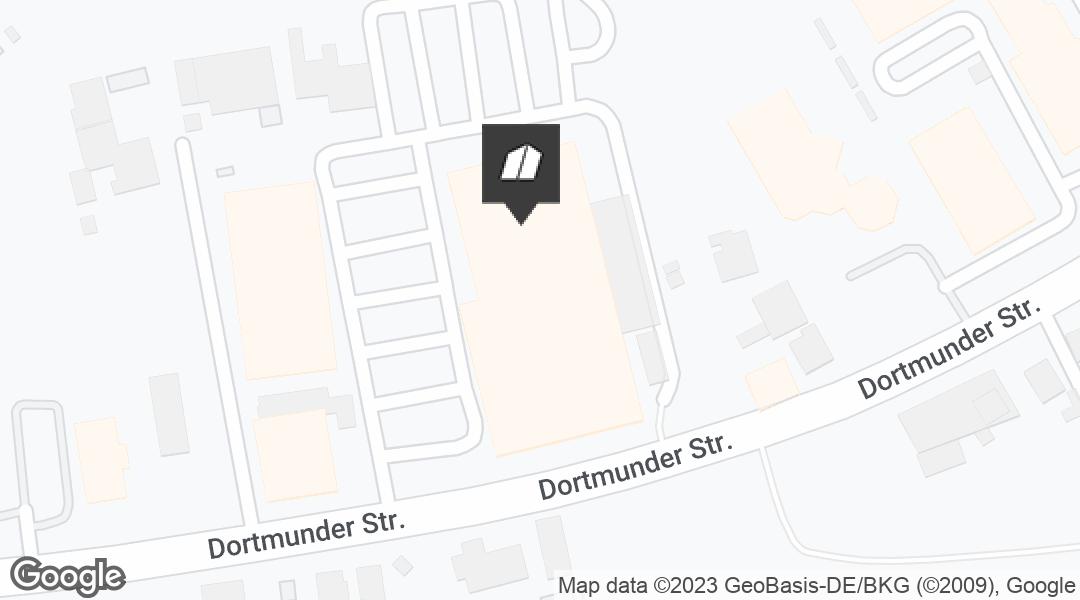 Karte für den Markt in Hamm