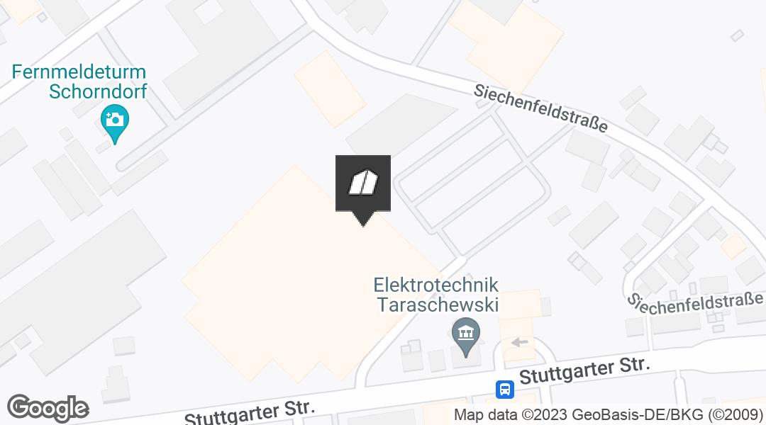 Karte für den Markt in Schorndorf