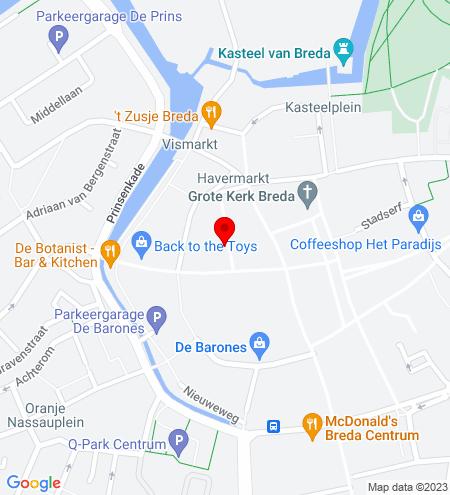 Google Map of 't Sas 5 4811 WC Breda