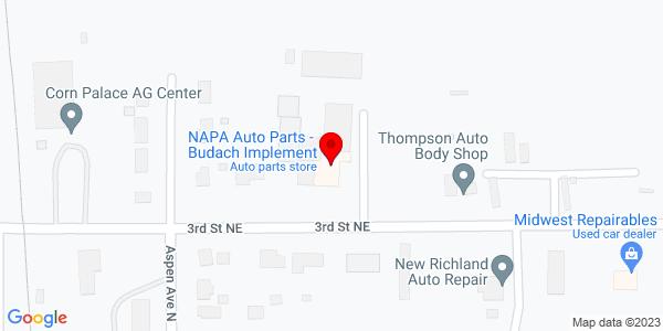 Google Map of +%C2%A0219+3rd+Street+Northeast+New+Richland+MN+56072