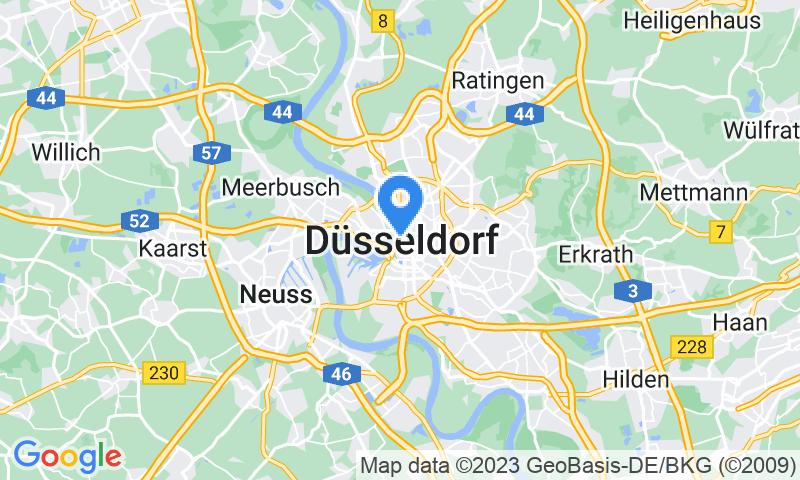 Kartenansicht   Düsseldorf
