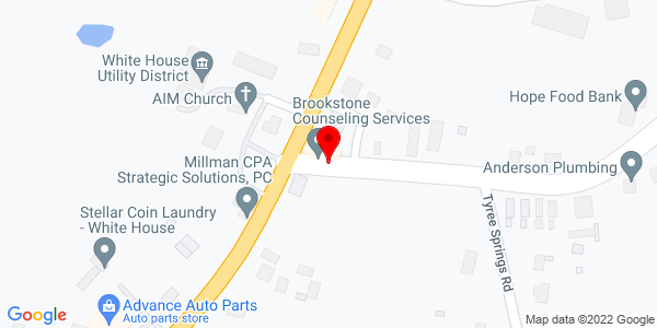 Google Map of ++White+House+TN+