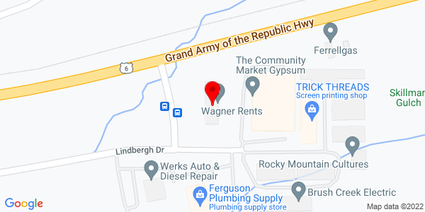 Google Map of +045+Earhart+Drive+Gypsum+CO+81637