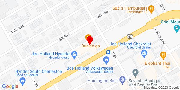 Google Map of +1+Andy%27s+Way+South+Charleston+WV+25309