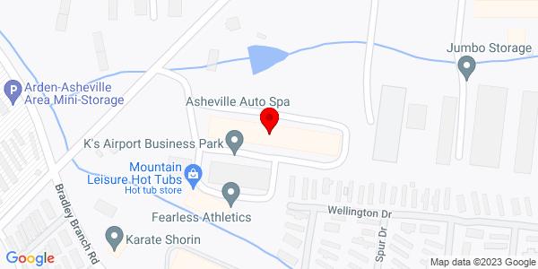 Google Map of +1+Business+Park+Circle+Arden+%28Asheville%29+NC+28704