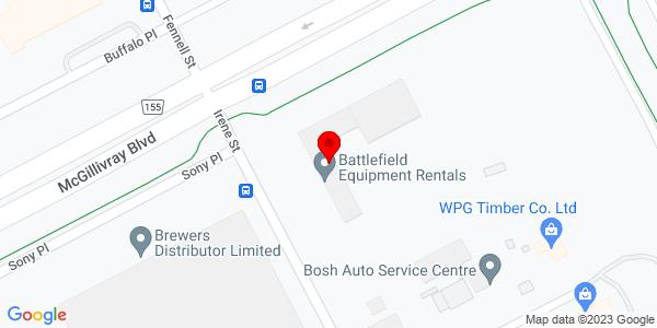 Google Map of +10+Irene+Street+Winnipeg+MB+R3T+0P1