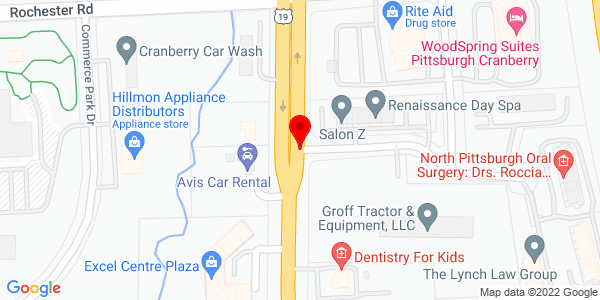 Google Map of +100+Smith+Drive+Cranberry+Township+PA+16066