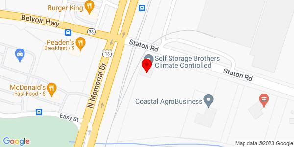 Google Map of +100+Staton+Road+Greenville+NC+27834