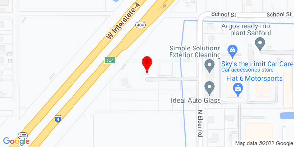 Google Map of +1000+N+Elder+Road+Sanford+FL+32771
