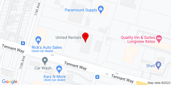 Google Map of +1002+Tennant+Way+Longview+WA+98632